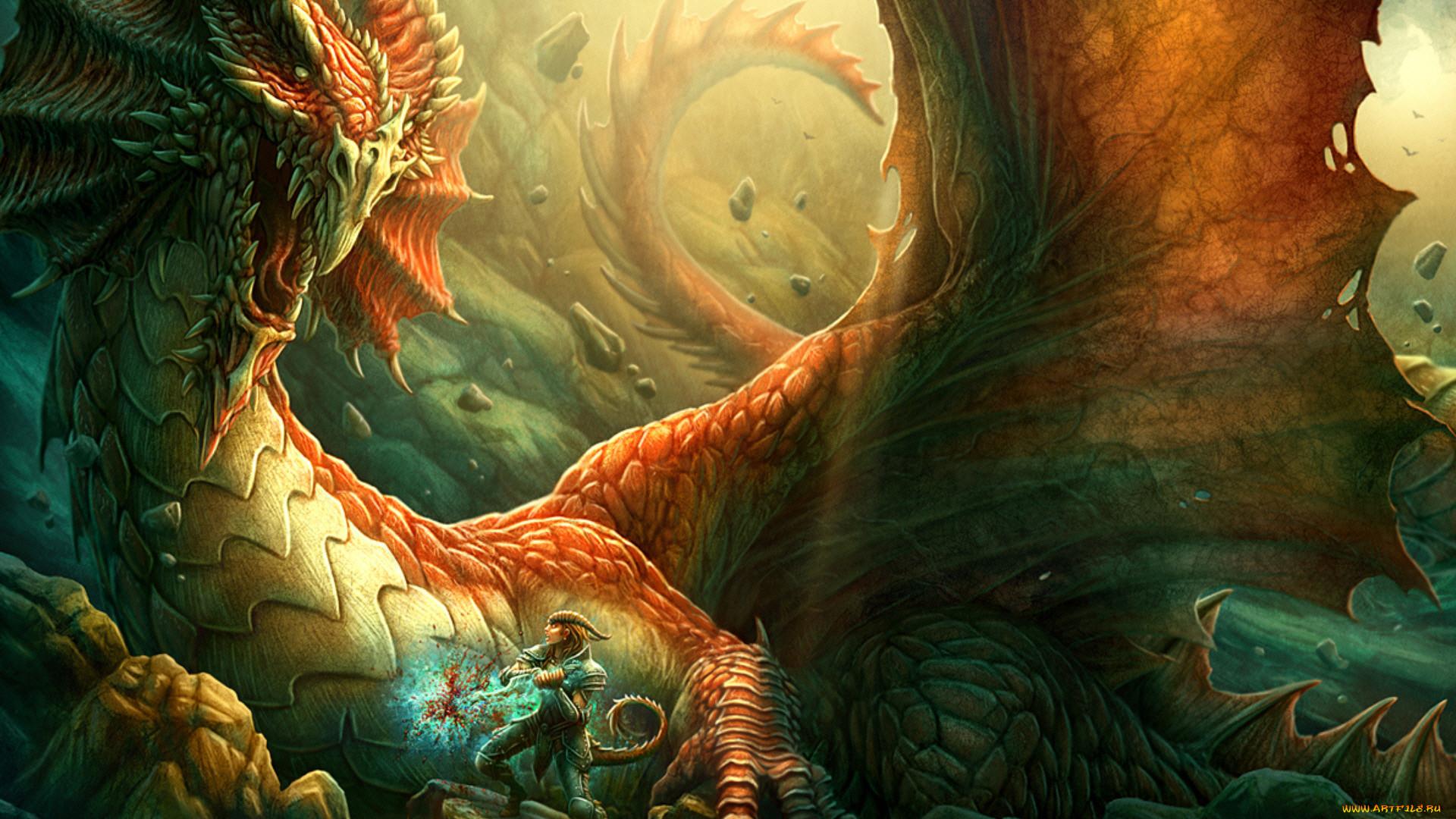церемонии картинки фентези с драконами три